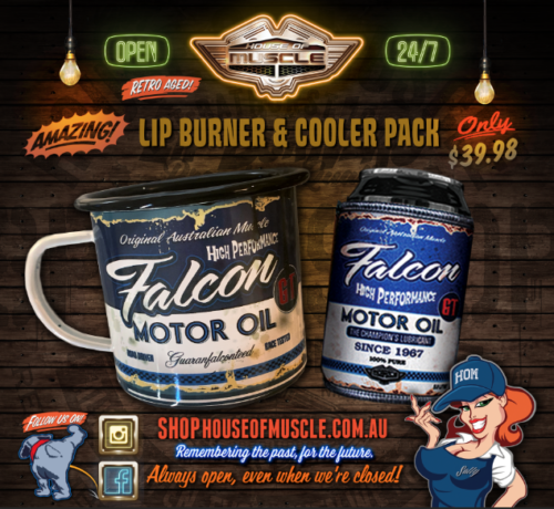 FORD FALCON MOTOR OIL COOLER CUP