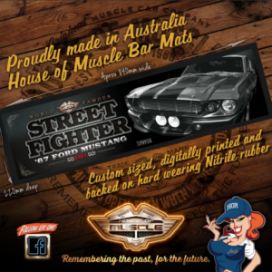 Ford Mustang BAR MAT