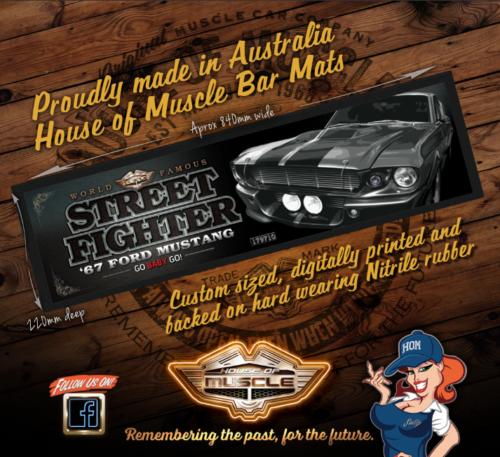 Ford Mustang BAR MAT