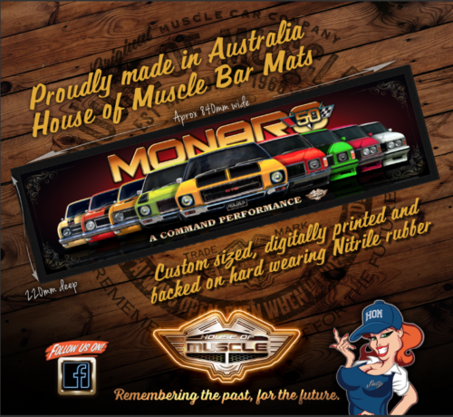 MONARO 50TH BAR RUNNER