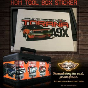TORANA A9X STICKER