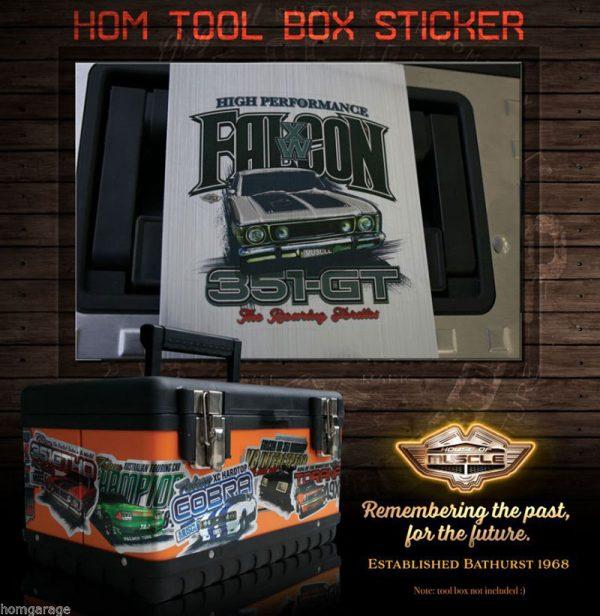 FALCON XW GT STICKER