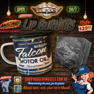 FORD FALCON TIN CUP