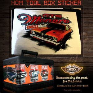 HT MONARO GTS STICKER