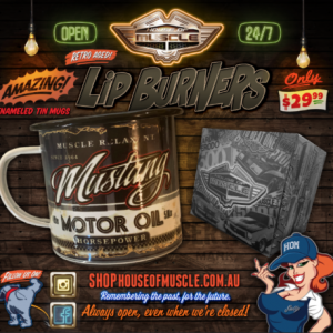 Ford Mustang TIN CUP