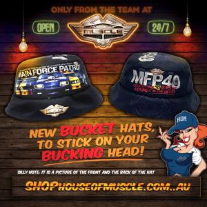 MFP 40TH BUCKET HAT