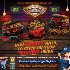 MUSTANG GT BUCKET HAT