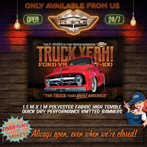 FORD F100 BANNER