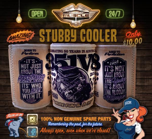 351 V8 STUBBY COOLER