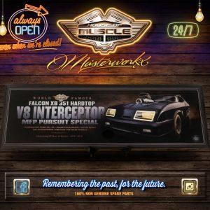 V8 INTERCEPTOR ACRYLIC