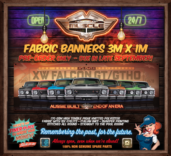 FALCON XW GT BANNER