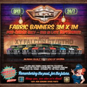 FALCON XY 3M BANNER