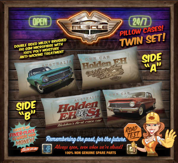 HOLDEN EH PILLOW CASES