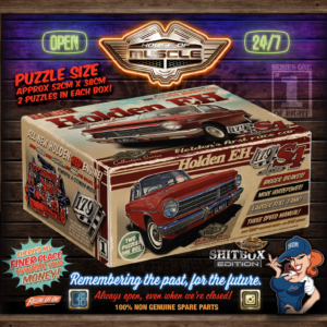 HOLDEN EH JIGSAW PUZZLE